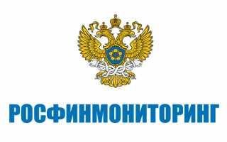 Личный кабинет на портале Росфинмониторинга: регистрация, использование и некоторые общие вопросы
