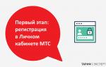 Вход в Личный кабинет МТС: по номеру мобильного телефона и регистрация