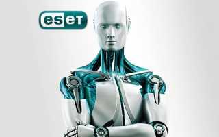 Активация антивируса ESET — регистрация продуктов Есет и продление лицензии.
