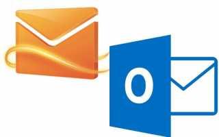 Экспорт или резервное копирование электронной почты, контактов и календаря в PST-файл — bearnet.ru
