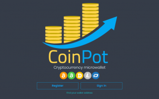 CoinPot — кошелек для сбора криптовалют и токена с кранов, сервис обмена и майнинга криптовалюты