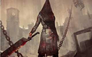 Пирамидоголовый из Silent Hill