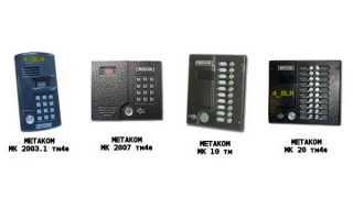 Простые способы открытия домофонов Метаком без ключа: стандартные и универсальные коды