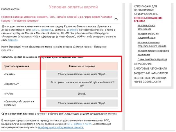 русфинанс банк оплатить кредит онлайн 1080